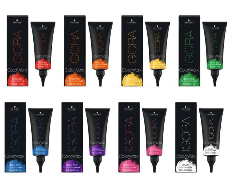 igora colorworx tinte fantas a pigmento directo schwarzkopf. Black Bedroom Furniture Sets. Home Design Ideas