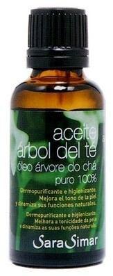Aceite árbol del té 100% puro Sara Simar