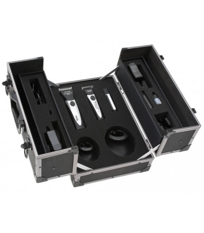 Pack Moser Chromstyle Pro y Chromini T-Cut+Afeitadora en maletín