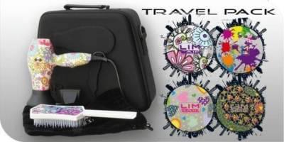 Kit de Secador de viaje TR 1.0 + cepillo Tanglim LIM HAIR