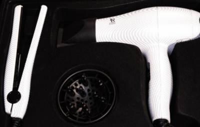 Kit mini plancha y mini secador de viaje Irene Rios
