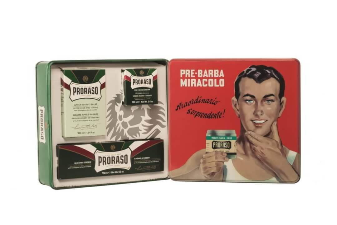Kit completo de afeitado todo tipo de pieles Proraso