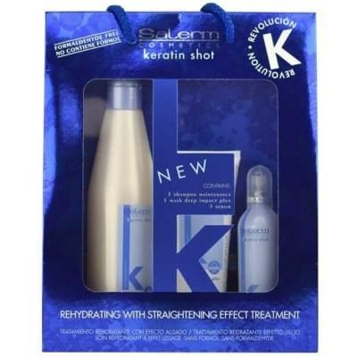Pack de mantenimiento Keratin Shot Salerm Cosmetics