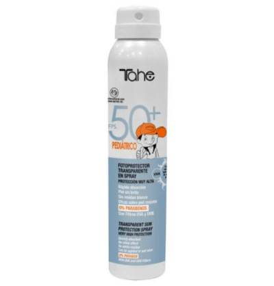 Spray fotoprotector Tahe para niños SFP 50